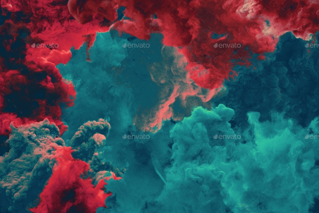 Colorful Smoke Backgrounds By Kauster-