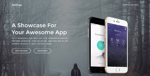 Tollfree – App template