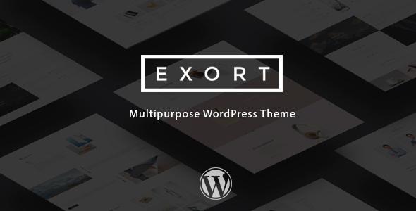 Exort - Responsive Multi-Purpose WordPress Theme