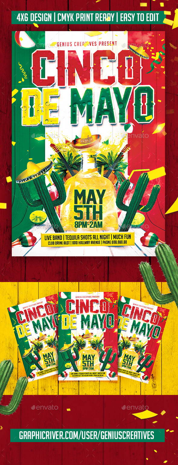 Cinco De Mayo - Holidays Events