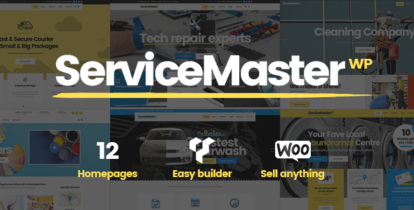 Service Master - A Multi-concept Theme for Service Businesses