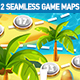 2 Tropical Seamless Game Maps - GraphicRiver Item for Sale