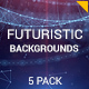 Futuristic Backgrounds | v.2 - VideoHive Item for Sale