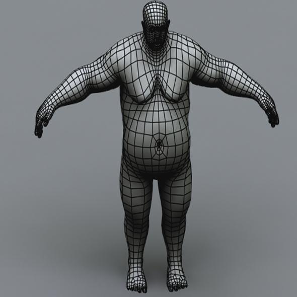 BigFatMan - 3DOcean Item for Sale