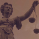 Statue of Lady Justice With Dark Weather - VideoHive Item for Sale