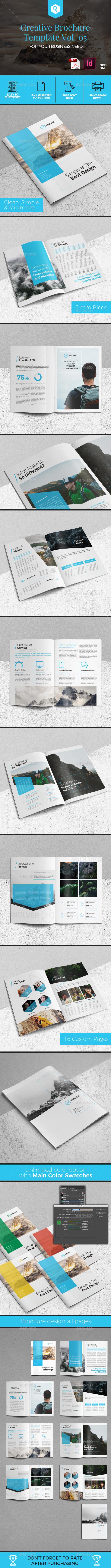 Creative Brochure Template Vol. 05 - Corporate Brochures