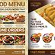 Restaurant Menu Bundle Templates - GraphicRiver Item for Sale