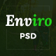 Enviro - Environment & Non-Profit PSD Template - ThemeForest Item for Sale