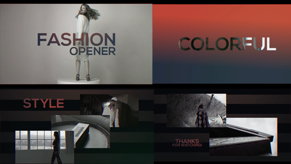 Fashion Promo - Fast Colorful Opener