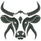 Cow Logo - GraphicRiver Item for Sale