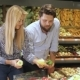 Couple Choose Bell Peppers at the Supermarket - VideoHive Item for Sale