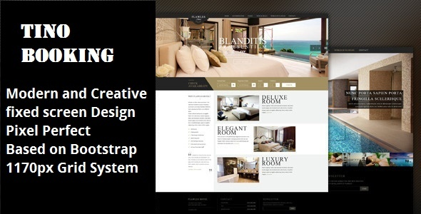 Tino Booking | Hotel HTML 5 Template