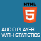 Audio Player with Statistics