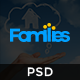 Families - Real Estate PSD Template Nulled