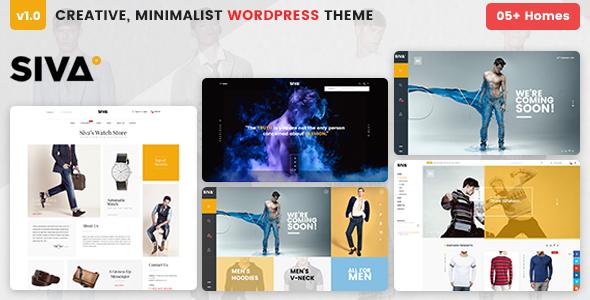 VG Siva – Creative Minimalist WooCommerce Theme
