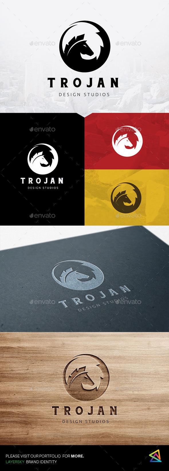 Trojan - Animals Logo Templates