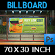 Cleaning Services Billboard Template Vol.3 - GraphicRiver Item for Sale