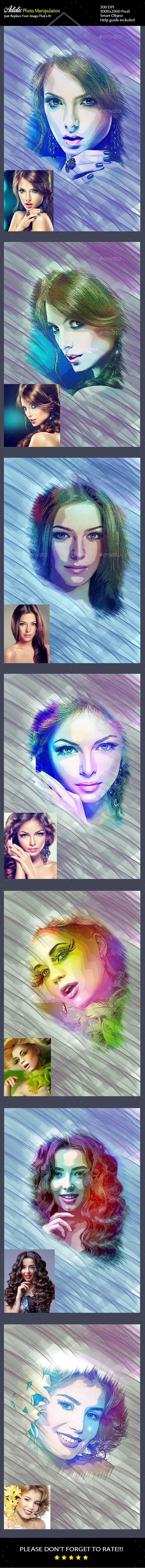 Artistic Photo Templates - Photo Templates Graphics
