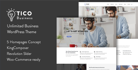 Tico – Responsive Business WordPress Theme