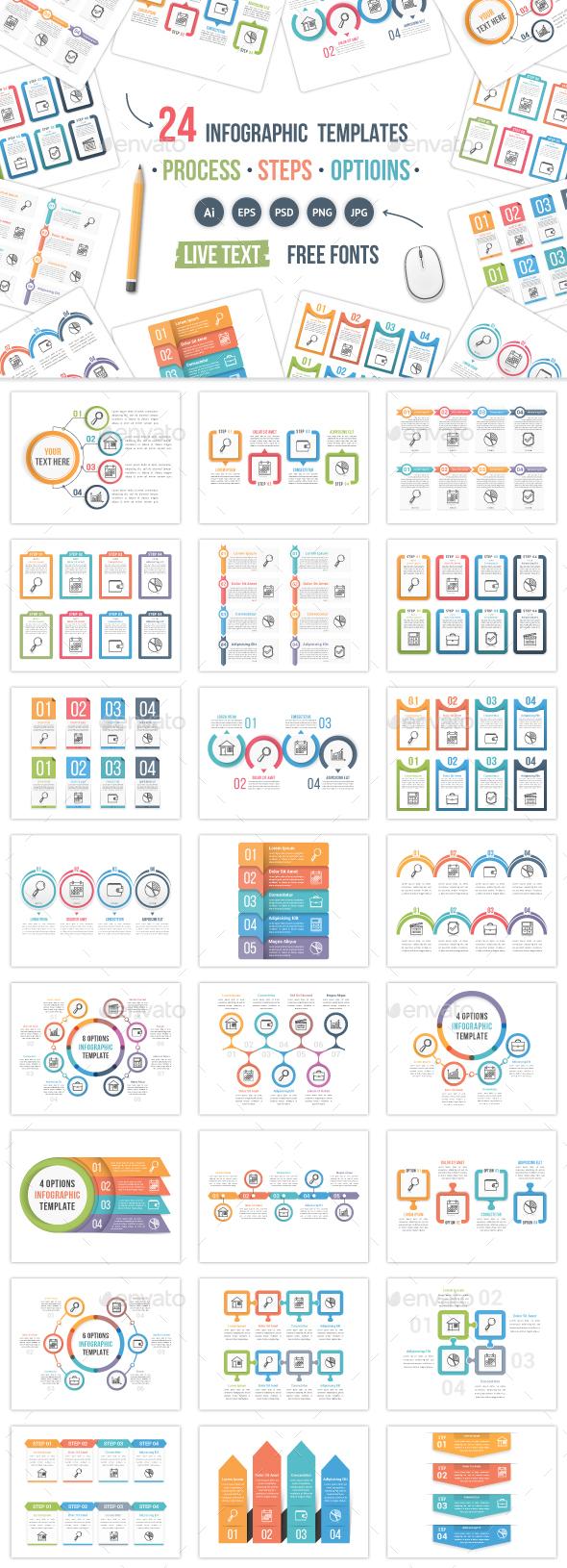 24 Infographic Templates - Infographics