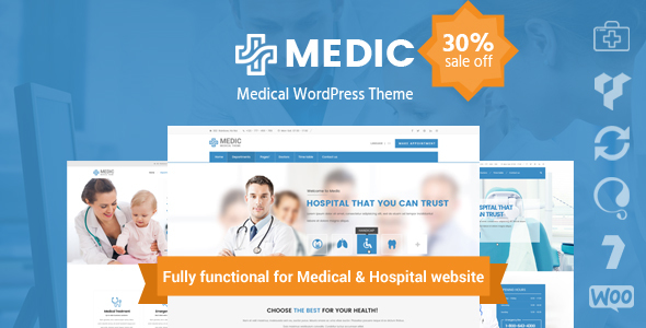 InMedical | Medical Clinic Hospital WordPress Theme