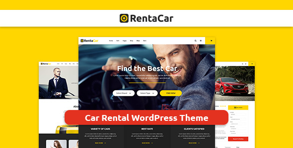 Rentacar - Car Rental / Listing WordPress Theme - Business Corporate