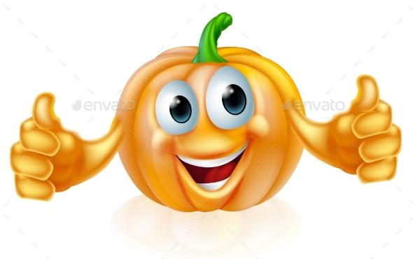 Pumpkin Mascot