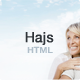 Hajs - Modern Multi-Purpose Landing Page Template - ThemeForest Item for Sale