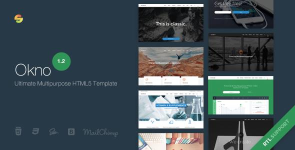 Okno - Ultimate Multipurpose HTML5 Template - Business Corporate