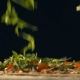 Arugula Falls on Pizza - VideoHive Item for Sale