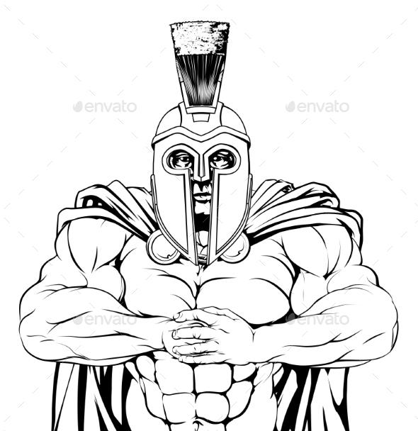 Tough Spartan - Sports/Activity Conceptual