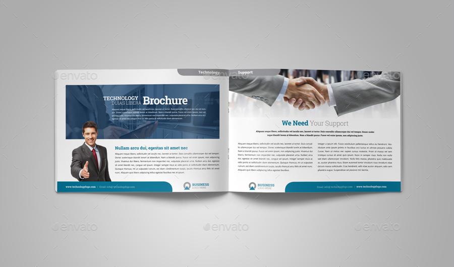 Technology Brochure Catalog Template V4 By Jbn Comilla Graphicriver