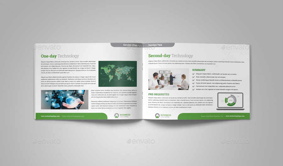 Technology Brochure Catalog Template V4 By Jbn-Comilla | Graphicriver