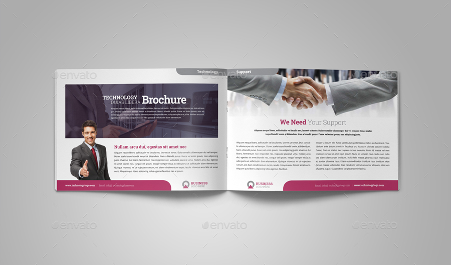 Technology Brochure Catalog Template V By JbnComilla  Graphicriver
