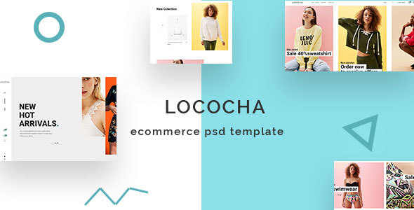 Lococha – Expert eCommerce PSD Template for Fashion Stores