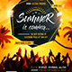 Summer Escape Party Flyer vol.7 - GraphicRiver Item for Sale