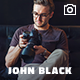 Photography Fullscreen Website Template - JohnBlack Photography Nulled