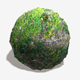 Vine Covered Rock Seamless Texture