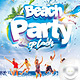 Flyer Beach Party Splash - GraphicRiver Item for Sale