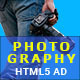 Photography - HTML5 Animated Banner 01
