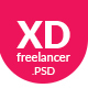 XD Freelancer- Personal/Agency Portfolio One Page PSD Template - ThemeForest Item for Sale