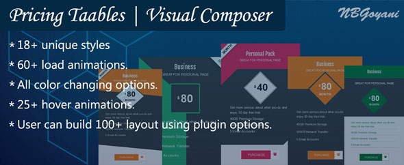 Visual Composer | Pricing Tables By NBGoyani Nulled Scripts