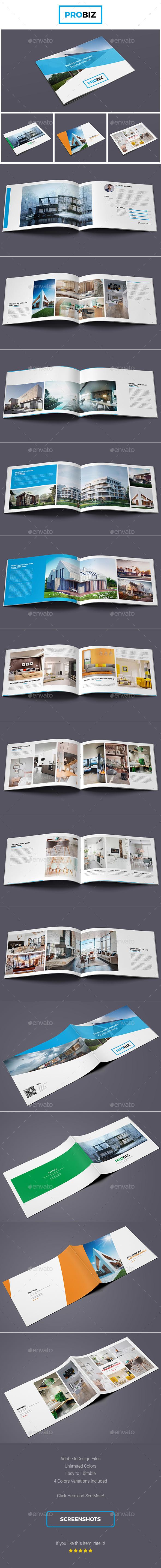 ProBiz – Business and Corporate Personal Portfolio - Portfolio Brochures