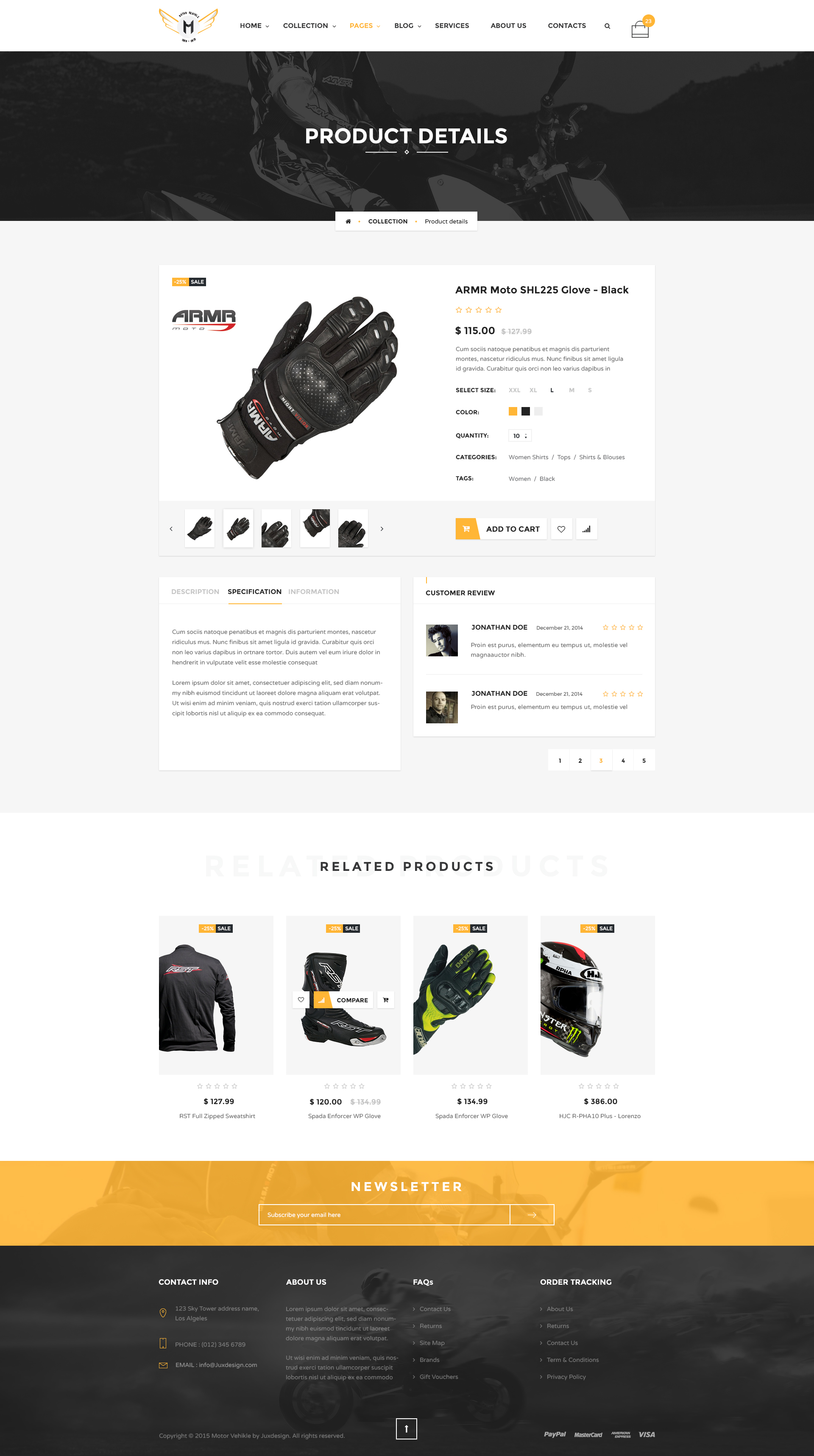 motor vehikal motorcycle online store html template by yolopsd themeforest. Black Bedroom Furniture Sets. Home Design Ideas