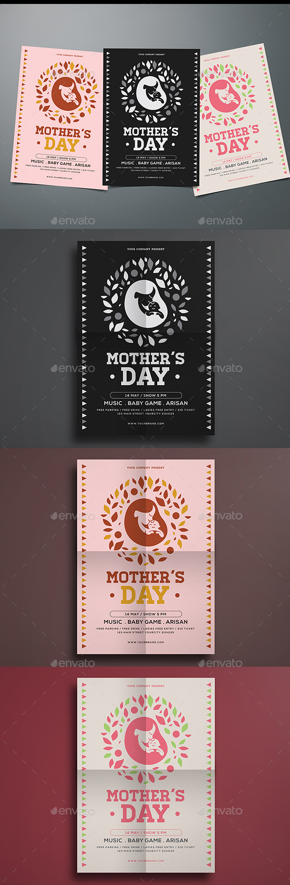 Simple Mother's Day Flyer - Events Flyers