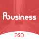 ABusiness PSD Template Nulled