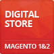 Digitalstore - Responsive Magento 1 & 2 Theme Nulled