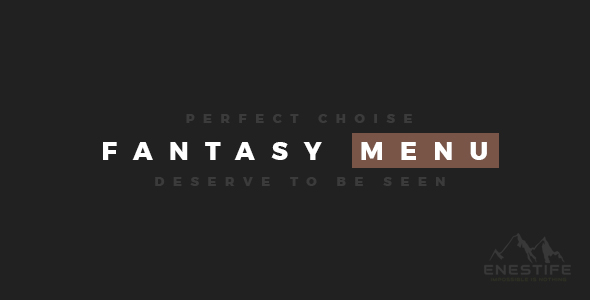 Enestife - Fantasy MegaMenu Responsive - CodeCanyon Item for Sale