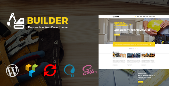 Builder – Construction WordPress Theme