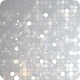 Glittering Silver Bokeh Dots Circle Background Nulled